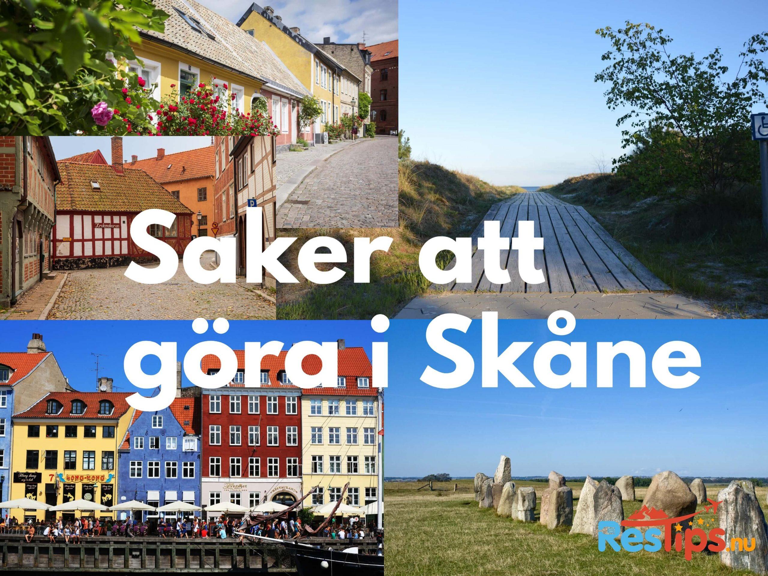 Saker att göra i Skåne